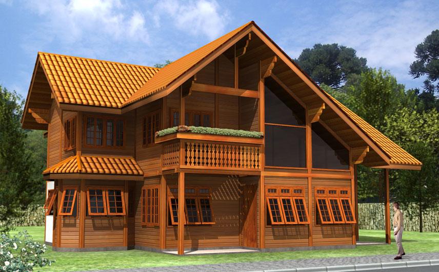 Casas Pré - Casas Pré Fabricadas em Madeira de Lei
