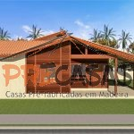 Casa de Madeira ALFREDO CHAVES - ES - 106,00 m² - Fachada