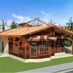 Casa de Madeira ARACRUZ - ES - 118,0 m2 fachada