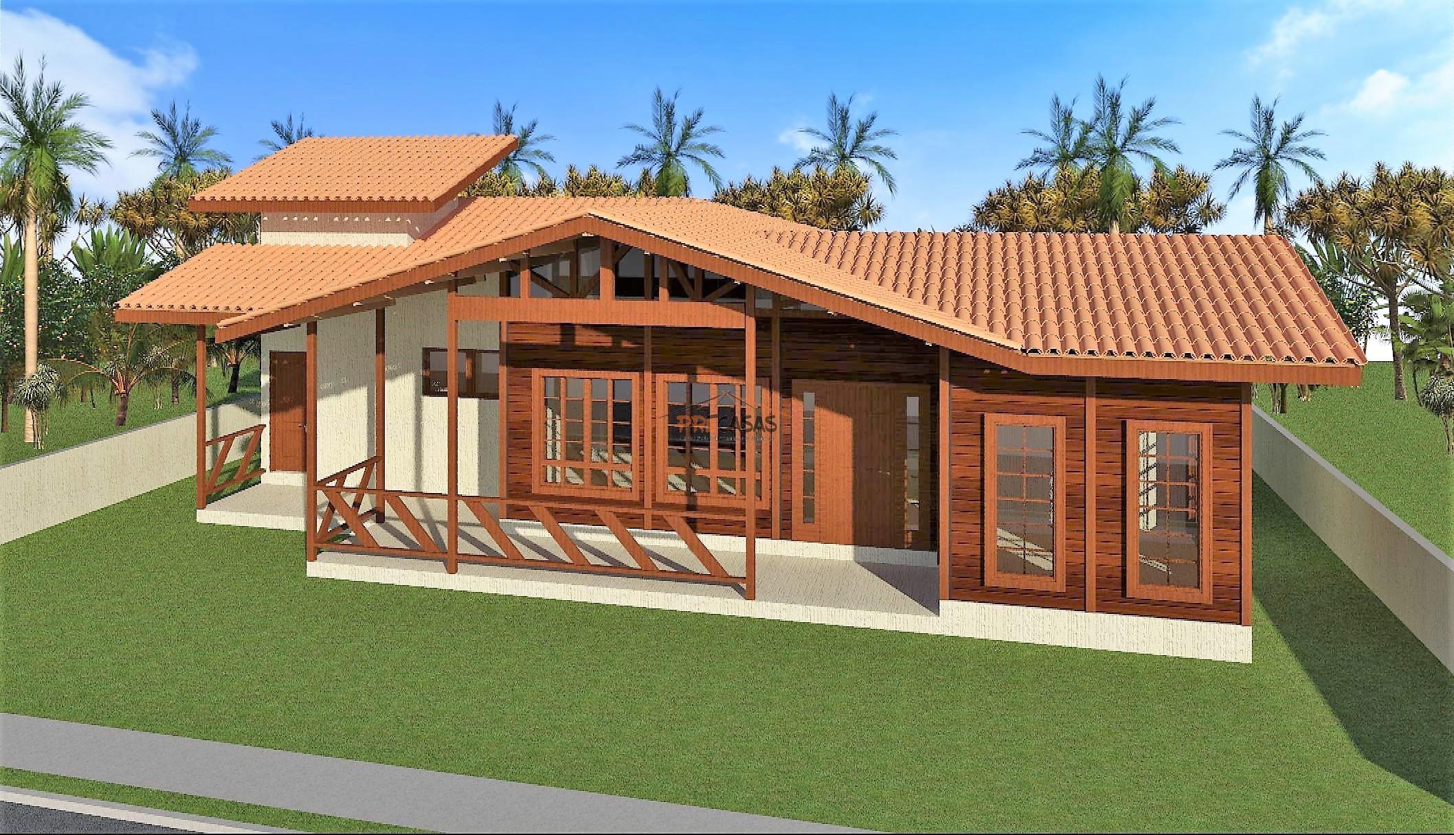 Casa de Madeira – Castelo-ES - 140,00 m²