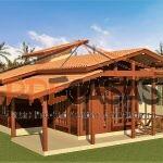 Casa de Madeira COLATINA - ES - 80,00 m2 - Fachada