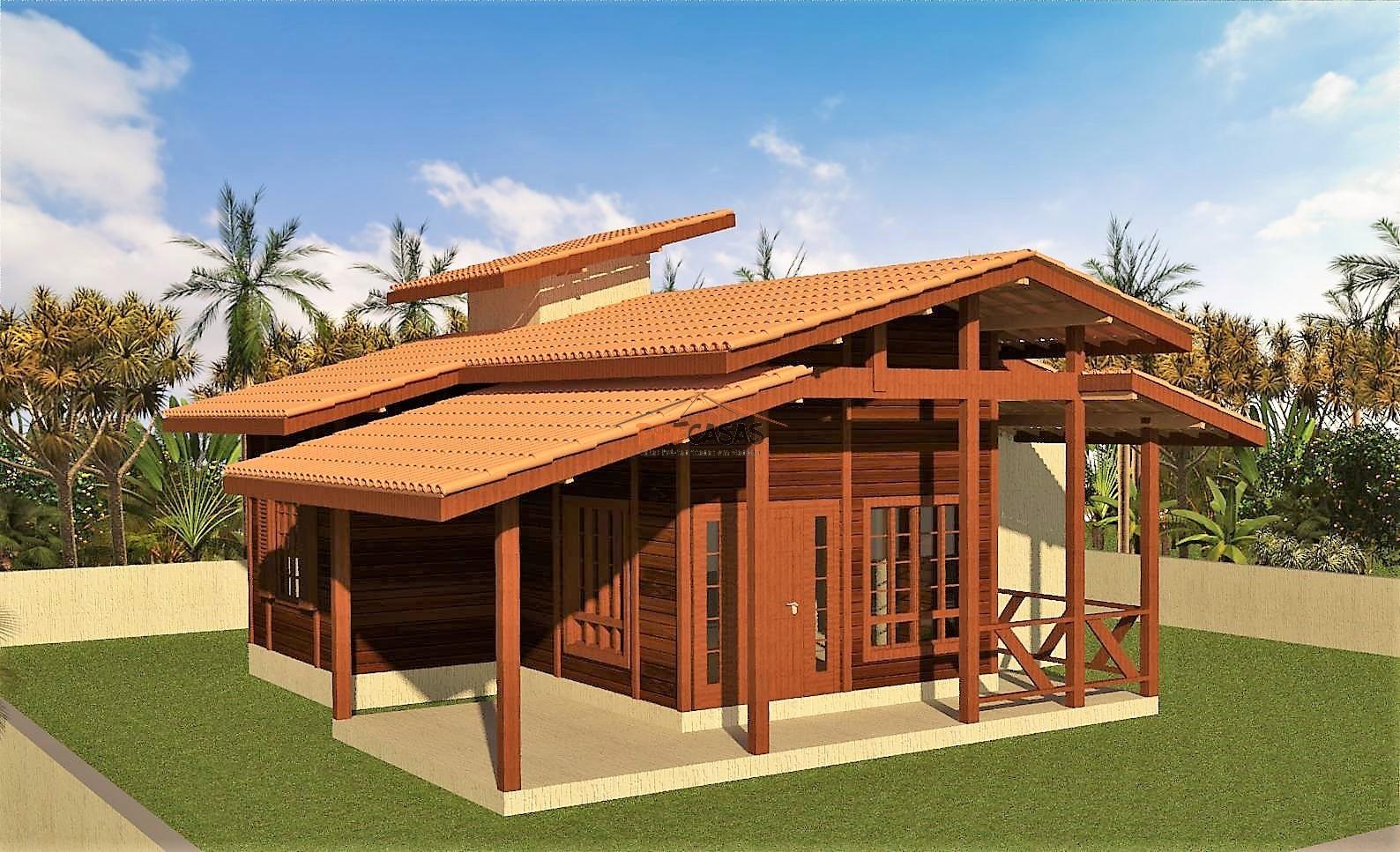 Casa de Madeira – Colatina-ES - 80,00 m²