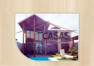 Casa de Madeira DOMINGOS MARTINS - ES - 160,0 m² Duplex - Fachada