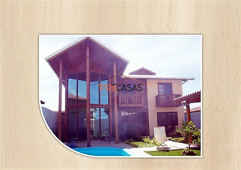 Casa de Madeira – Domingos Martins-ES - 160,00 m²