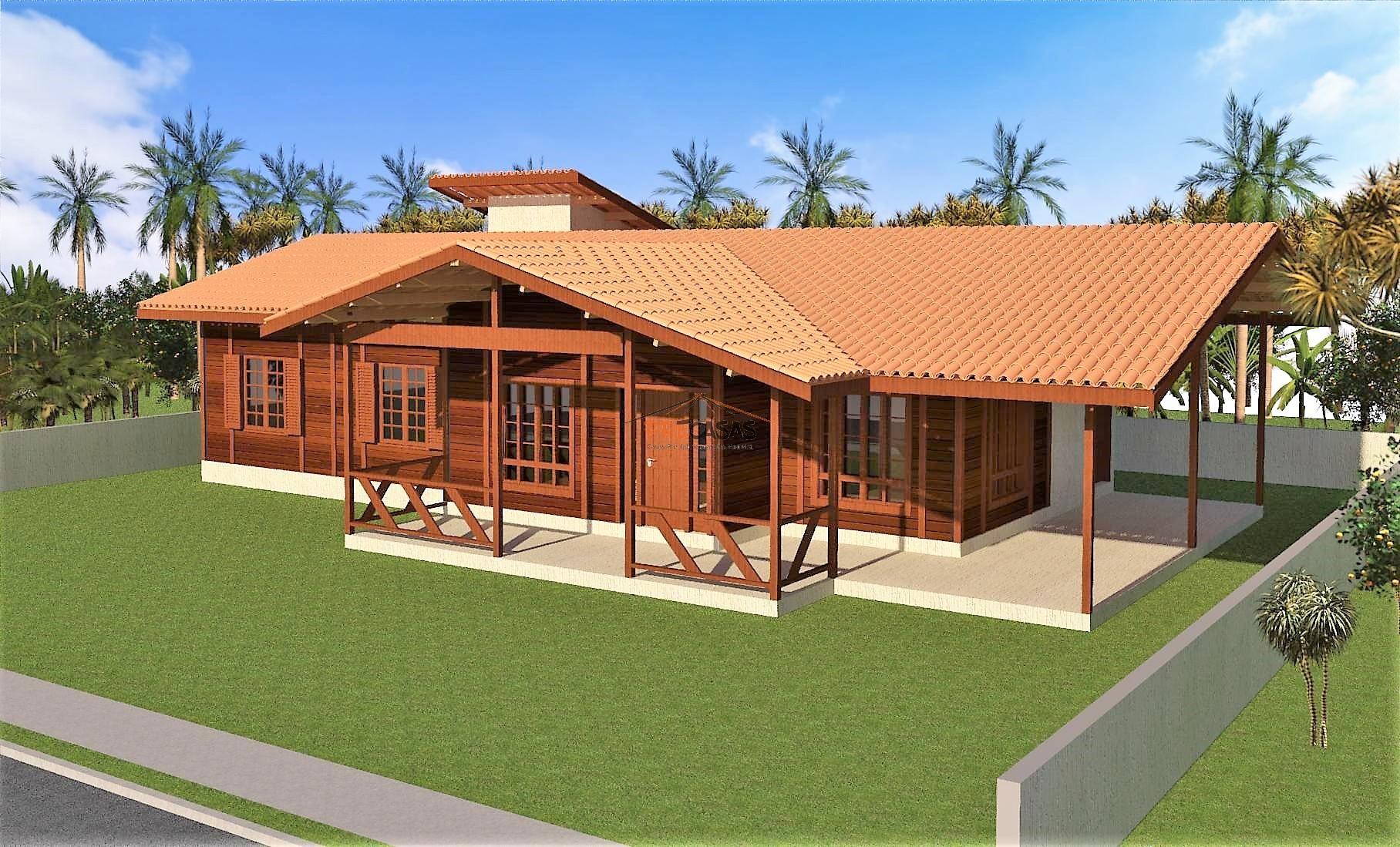 Casa de Madeira – Guarapari-ES - 164,00 m²