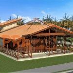 Casa de Madeira IBIRAÇU - ES - 141,00 m² - Fachada