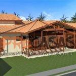 Casa de Madeira MARECHAL FLORIANO - ES - 139,00 m² - Fachada