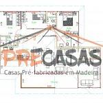 Casa de Madeira MARECHAL FLORIANO - ES - 139,00 m² - Planta