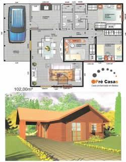 Promoções em Casas Pré Fabricadas - Pré Casas