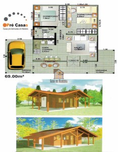 Projeto em Promoção - Pré Casas - 69 m² - R$ 41.400,00