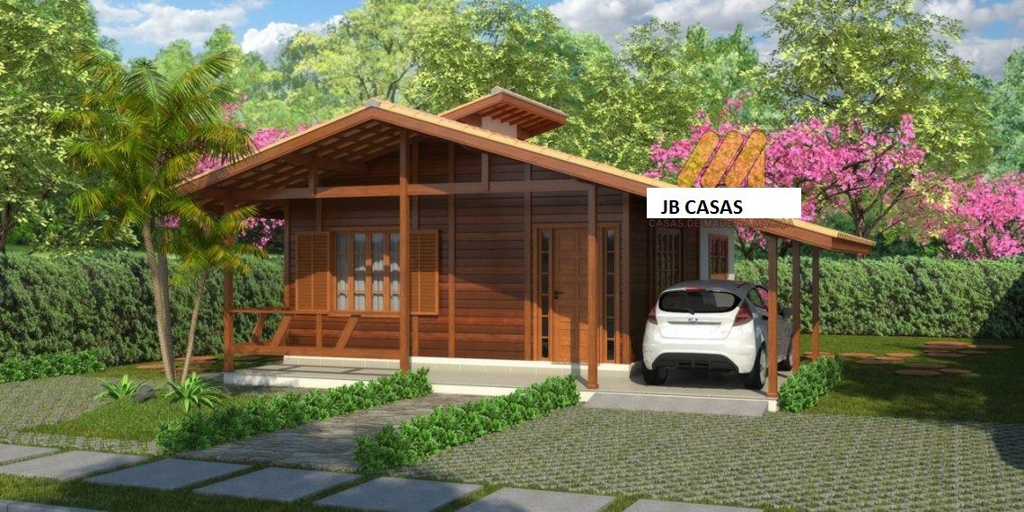 Pr casas casas pr fabricadas em madeira de lei for Casas de madera baratas pequenas
