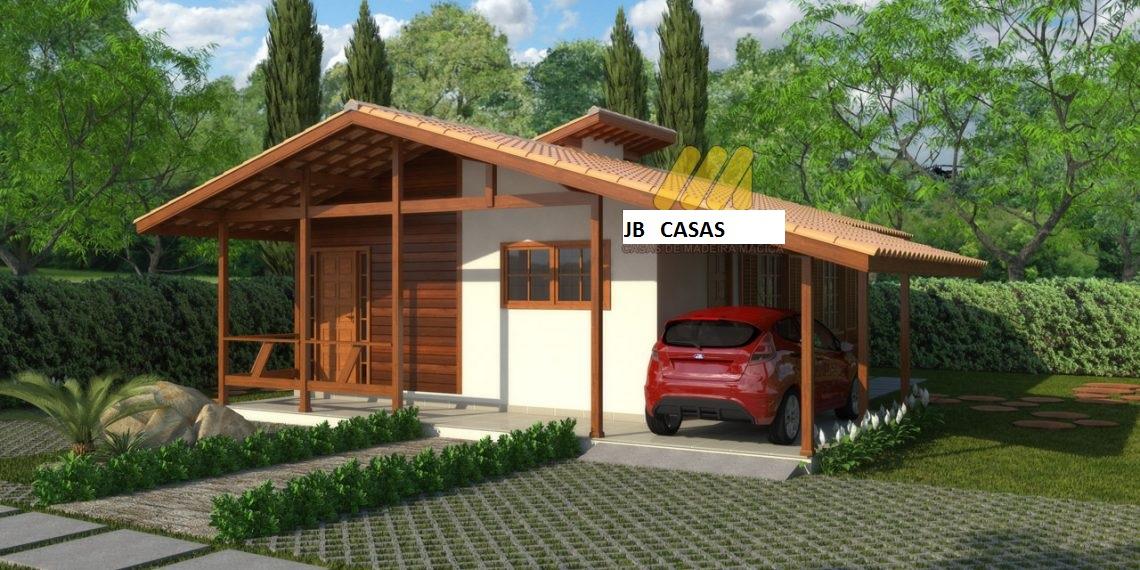 Casa de Madeira – Aracruz-ES - 80,60 m²
