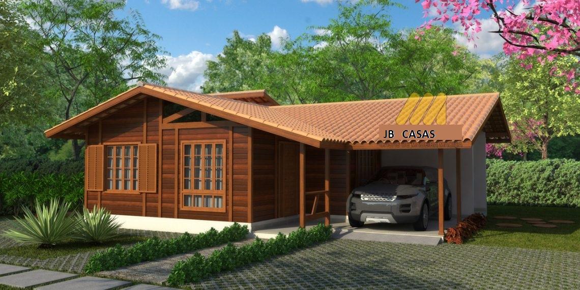 Casa de Madeira – Cariacica-ES - 101,11 m²