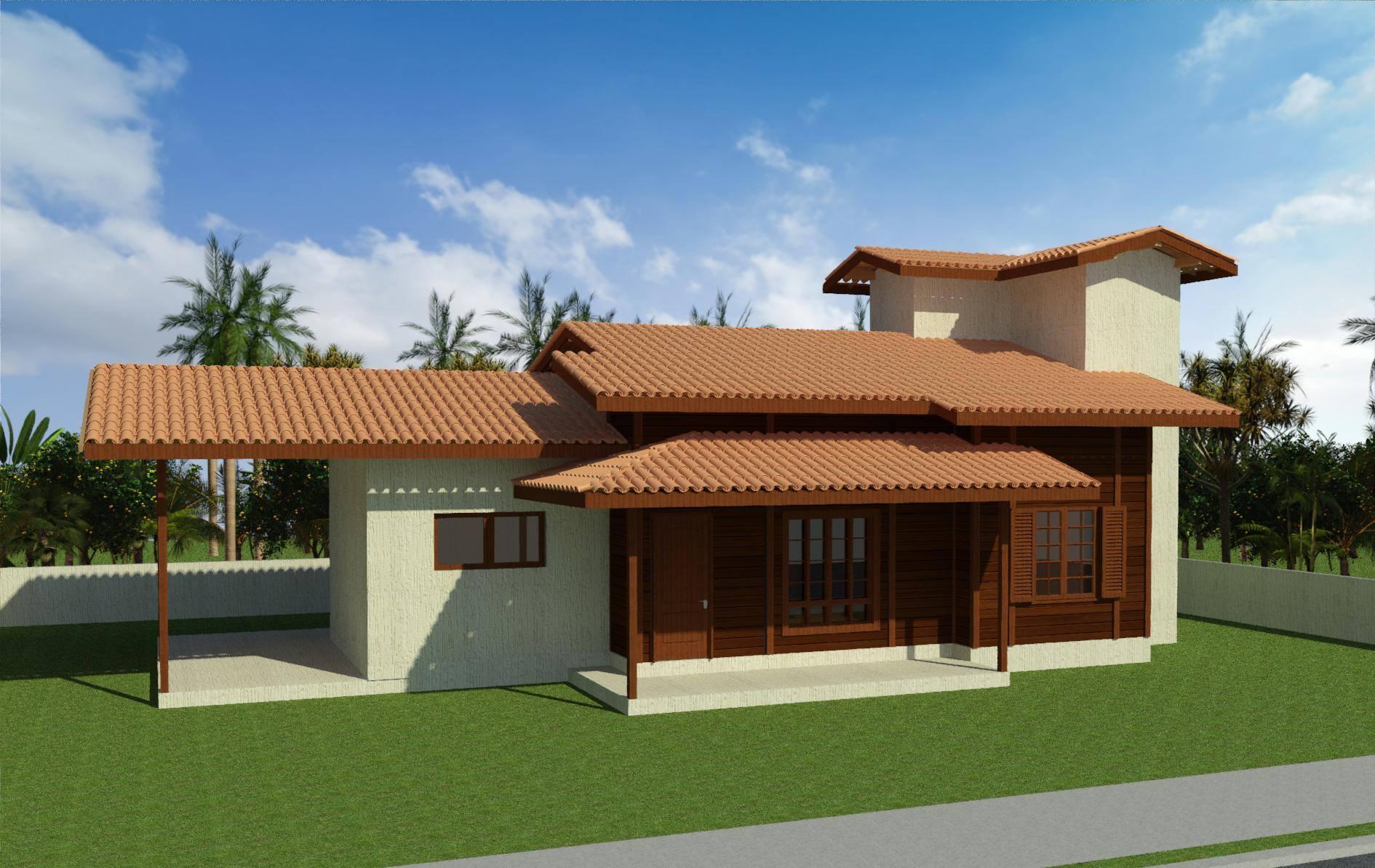 Casa de Madeira – Castelo-ES - 111,75 m²