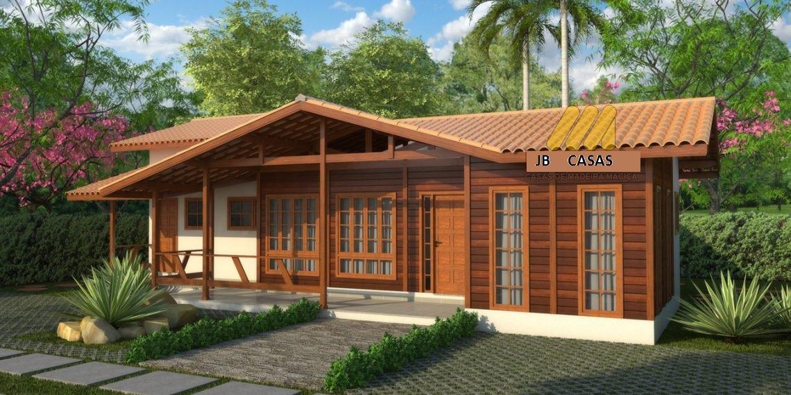 Casa de Madeira – Colatina-ES - 127,45 m²