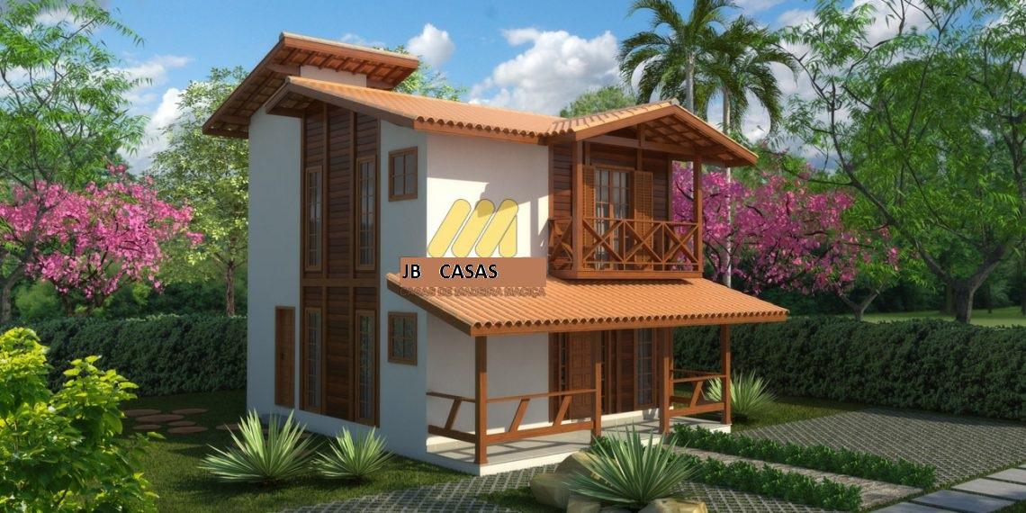 Casa de Madeira – Domingos Martins-ES - 106,99 m²