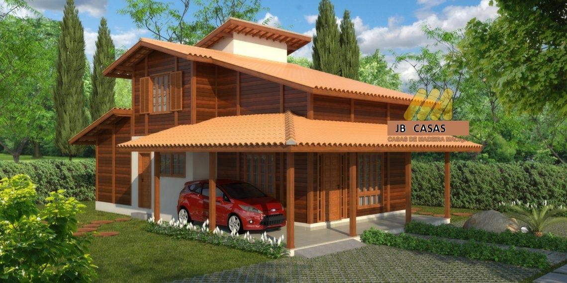Casa de Madeira – Guarapari-ES - 124,52 m²