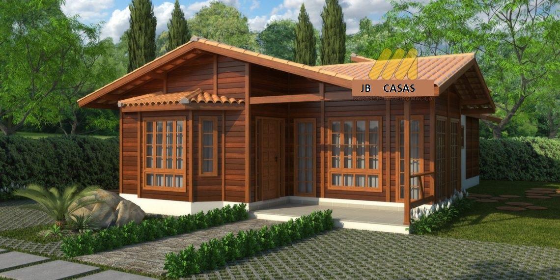Casa de Madeira – João Neiva-ES - 117,57 m²