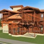 Casa de Madeira SÃO MATEUS - ES - 159,00 m² Duplex - Fachada