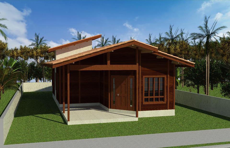 casa de madeira venda nova do imigrante es 90 74 m. Black Bedroom Furniture Sets. Home Design Ideas