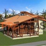 Casa de Madeira VENDA NOVA IMIGRANTE - ES - 75,00 m² - Fachada