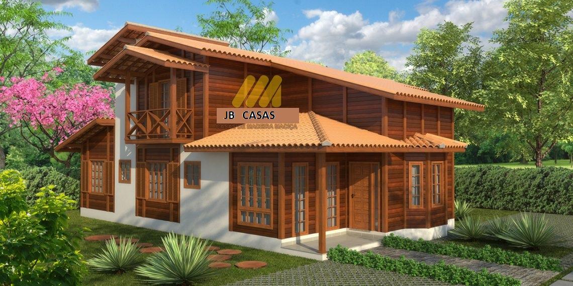 Casa de Madeira - Vila Velha-ES - 151,30 m² - Pré Casas