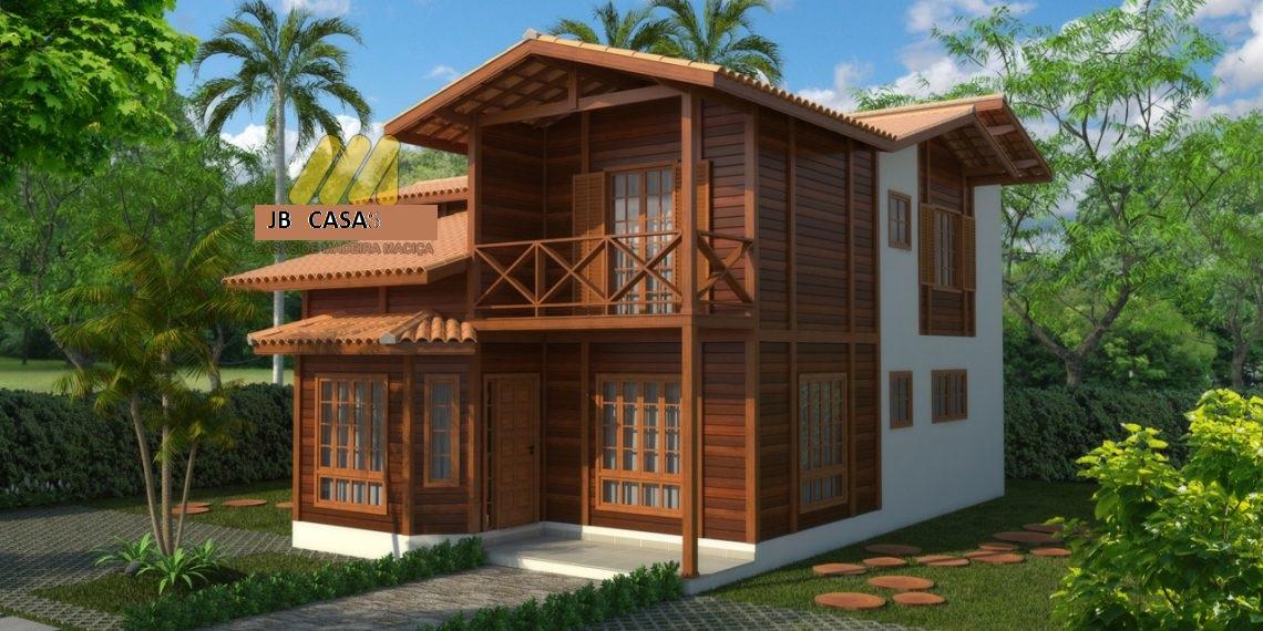 Casa de Madeira - Vitória-ES - 156,38 m² - Pré Casas
