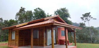 Promoção - Casa de Pinus Tratado 60 m² - JB Casas