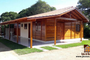 Promoção - Casa de Pinus Tratado 85 m² - JB Casas