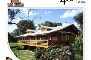 Casa de Madeira – Castelo-ES - 152,80 m²