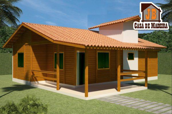 Promoção incrível JB Casas – Casa de 105 m² Completa