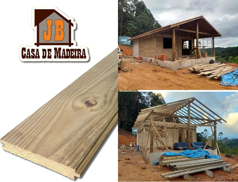 Casa de Pinus Autoclave - JB Casa de Madeira