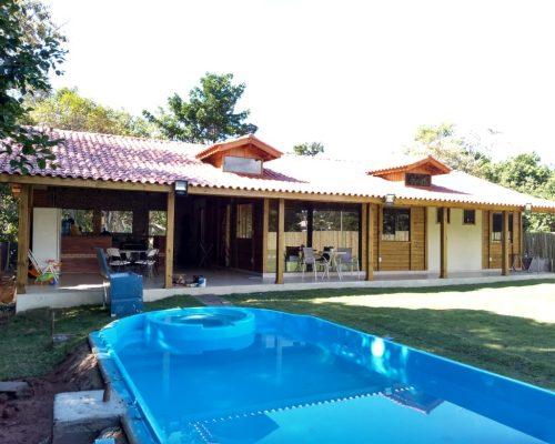 Casa Térrea de Madeira – Santa Maria de Jetibá-ES – 164,35 m²