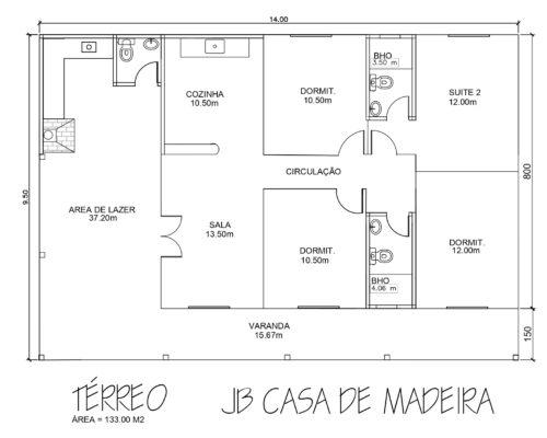 Casa de Madeira 133 m² – Iúna-ES
