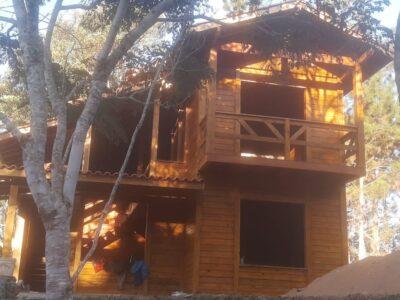 Duplex JB Casa de Madeira – Modelo Venda Nova do Imigrante-ES – 93 m²