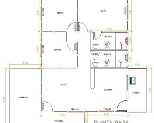 Casa de Madeira 89,50 m² – Marataízes-ES